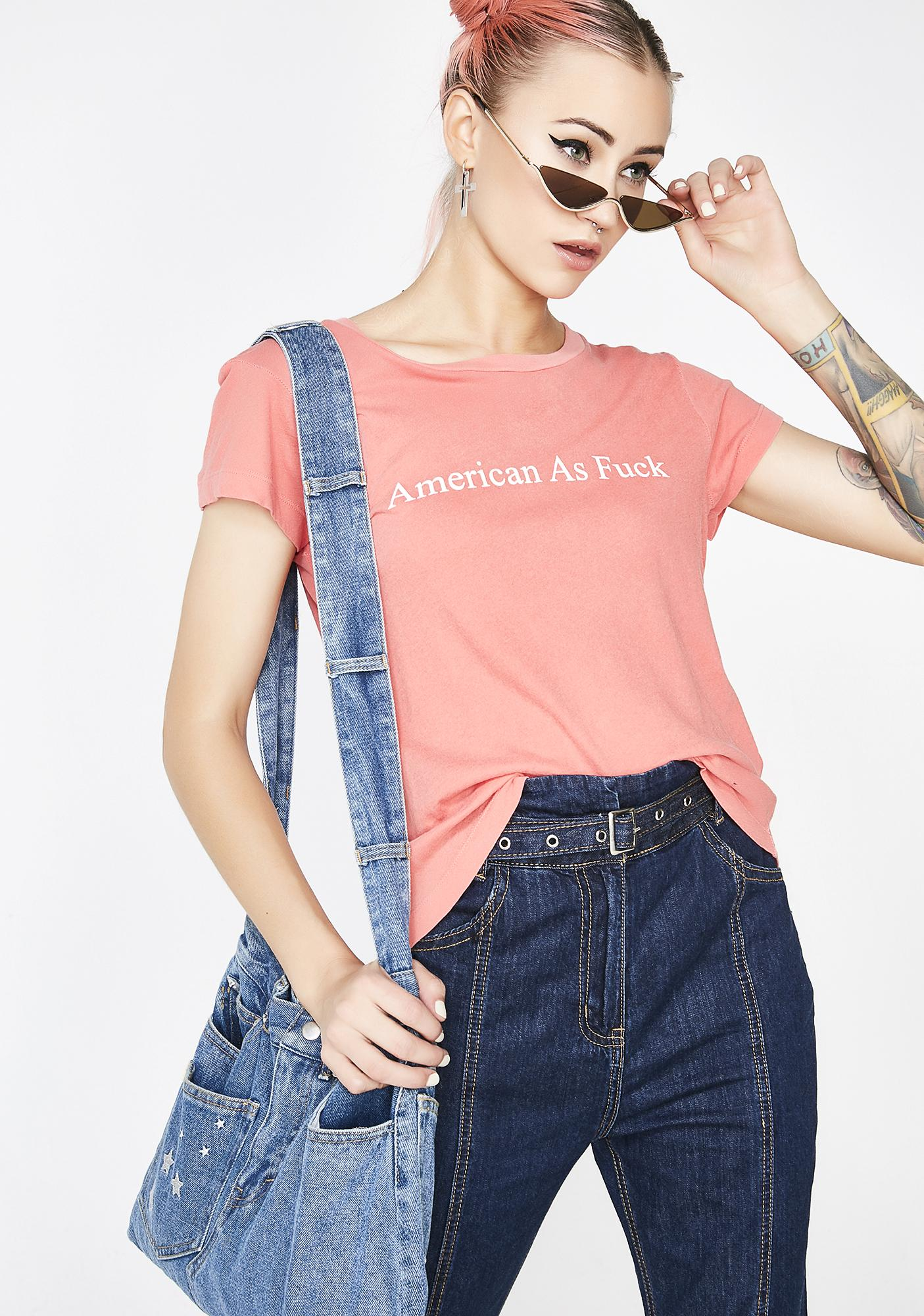 Wildfox Couture American AF No9 Tee