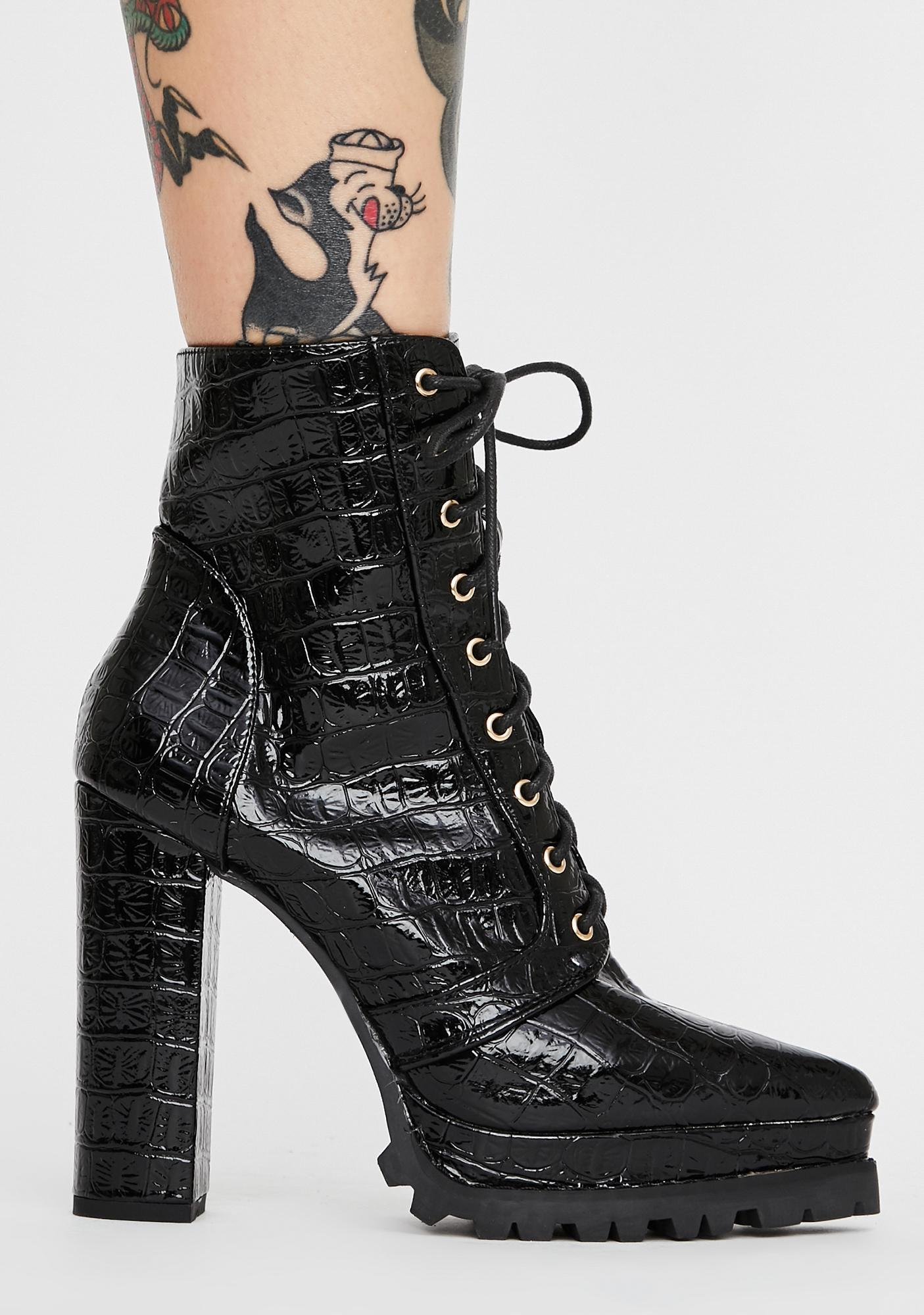 Impure Socialite Chic Ankle Boots