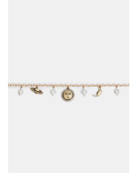 In Your Hands Chain Choker