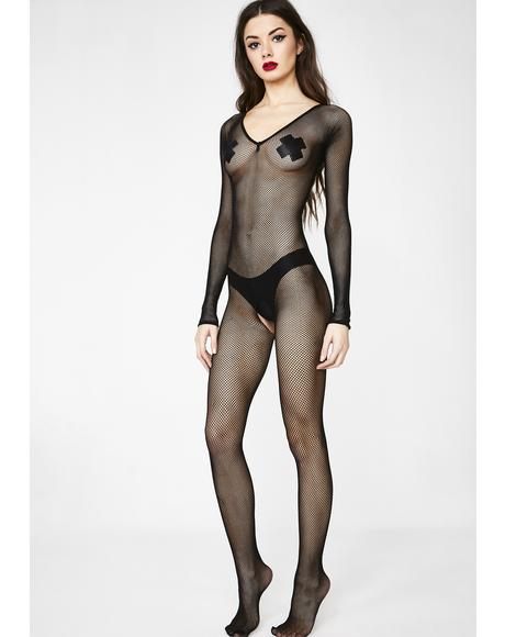IRL Sextin' Fishnet Bodystocking