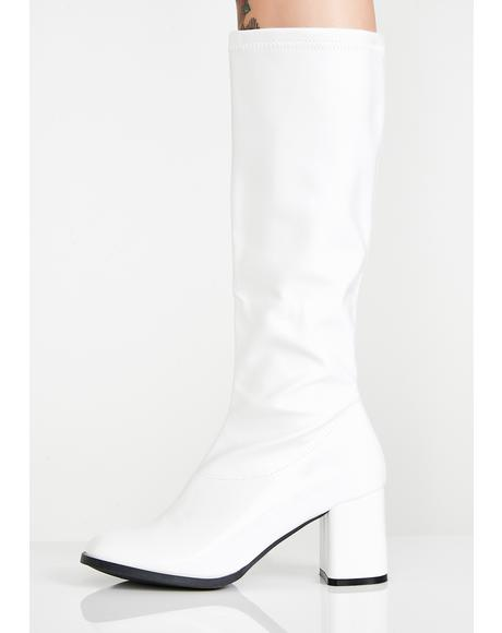 Icy Go-Go Dancer Boots