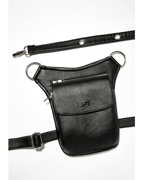 Vegan Leather Lipt Bag