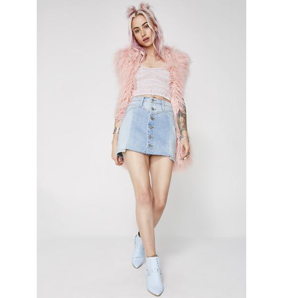 Step Aside Mini Skirt