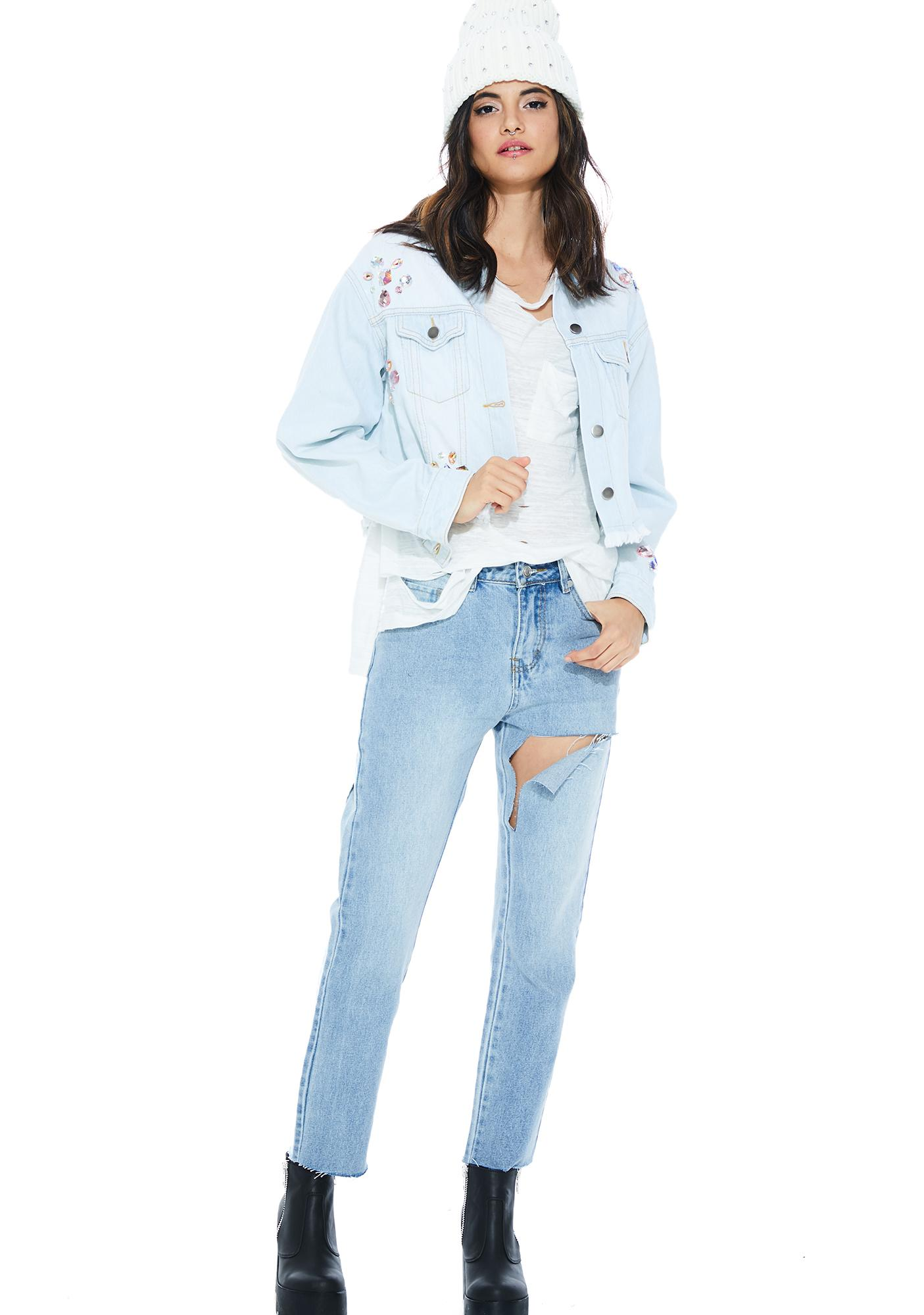 Precious Gemz Denim Jacket