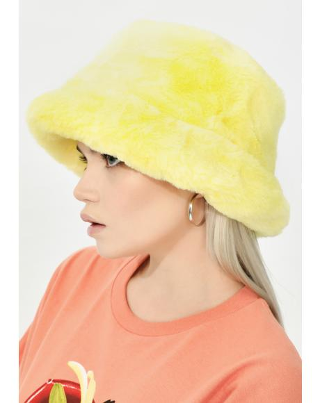 Solar Here We Go Furry Bucket Hat