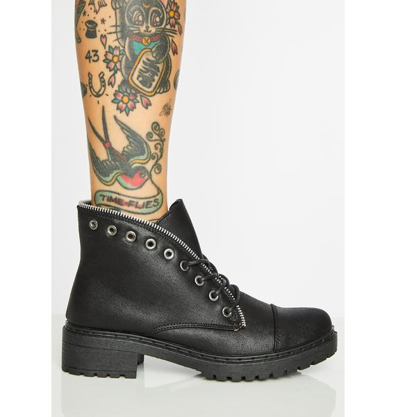 Sneak Attack Ankle Boots