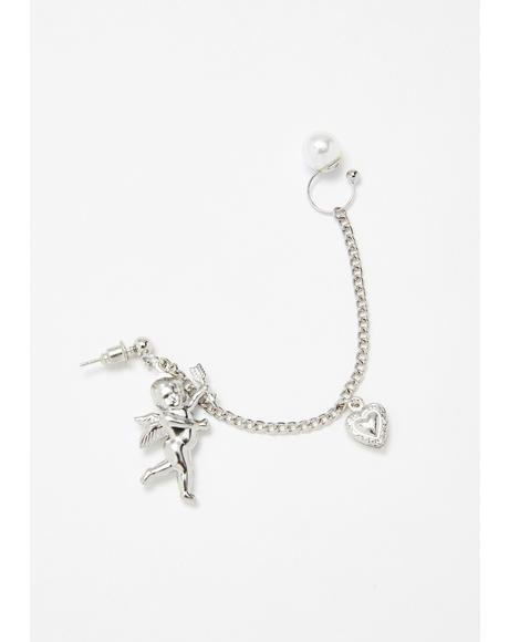 Lovestruck Together Ear Cuff
