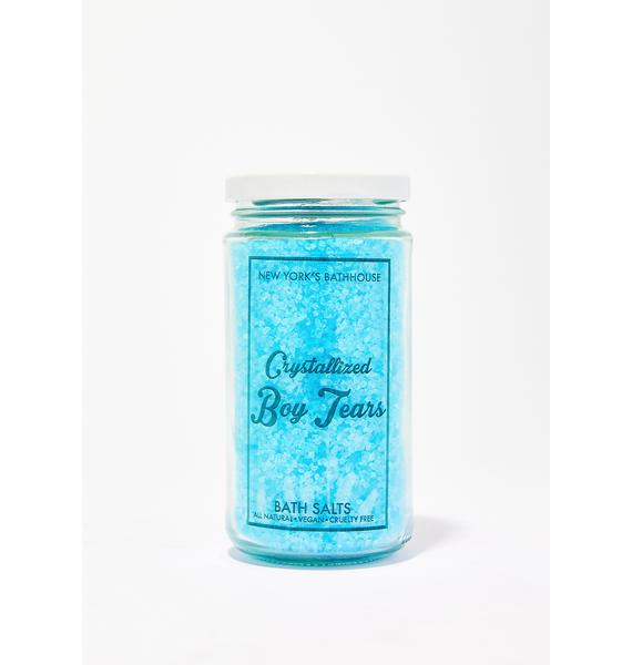 New York's Bathhouse Crystallized Boy Tears Bath Salts