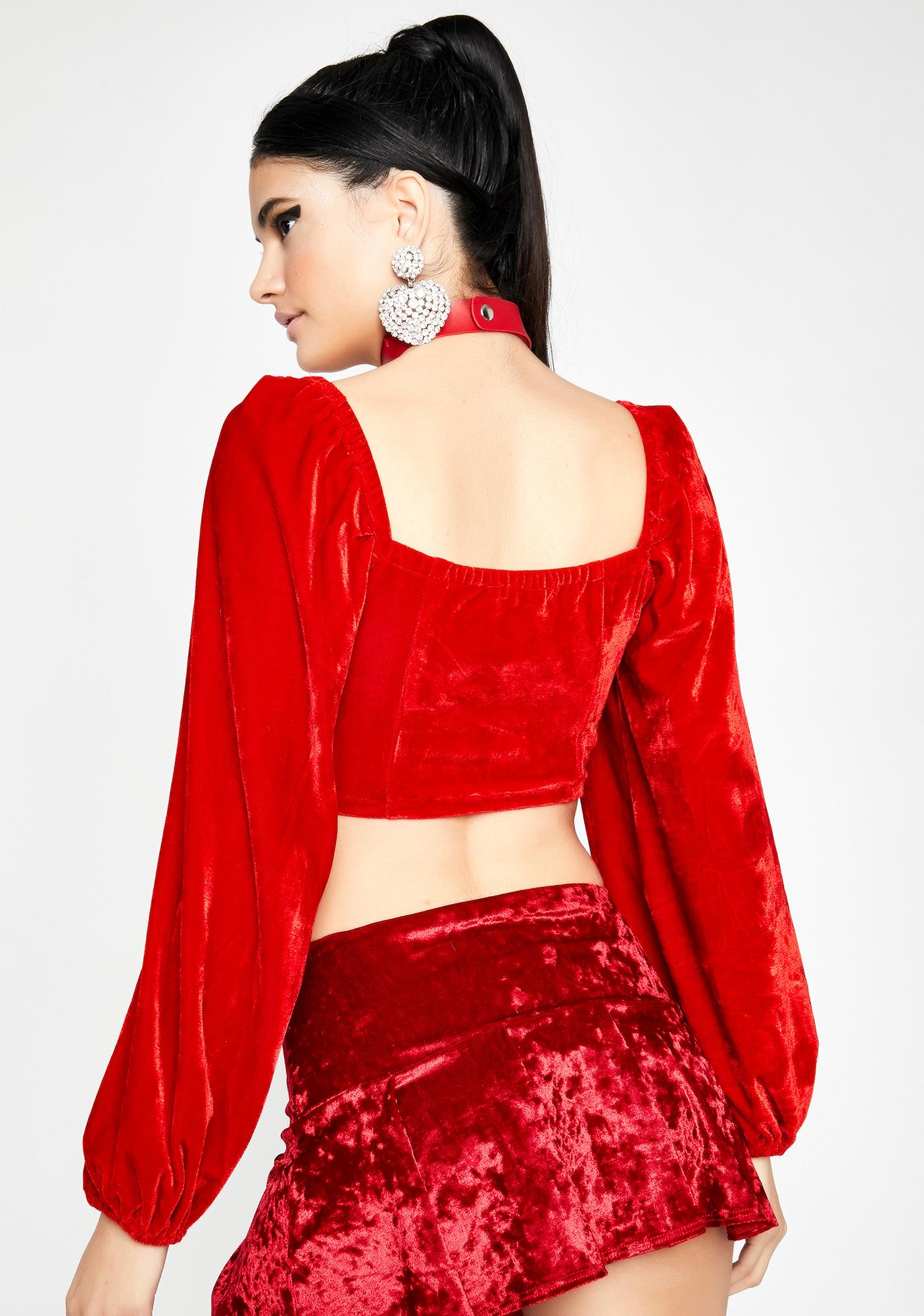 Ruby Chase The Feeling Crop Top
