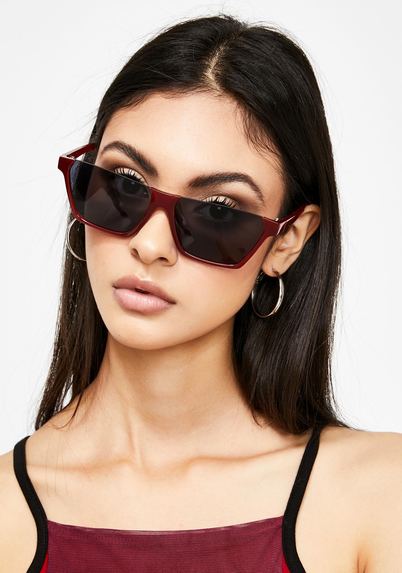 Wine Talkin' To You Oversized Sunglasses