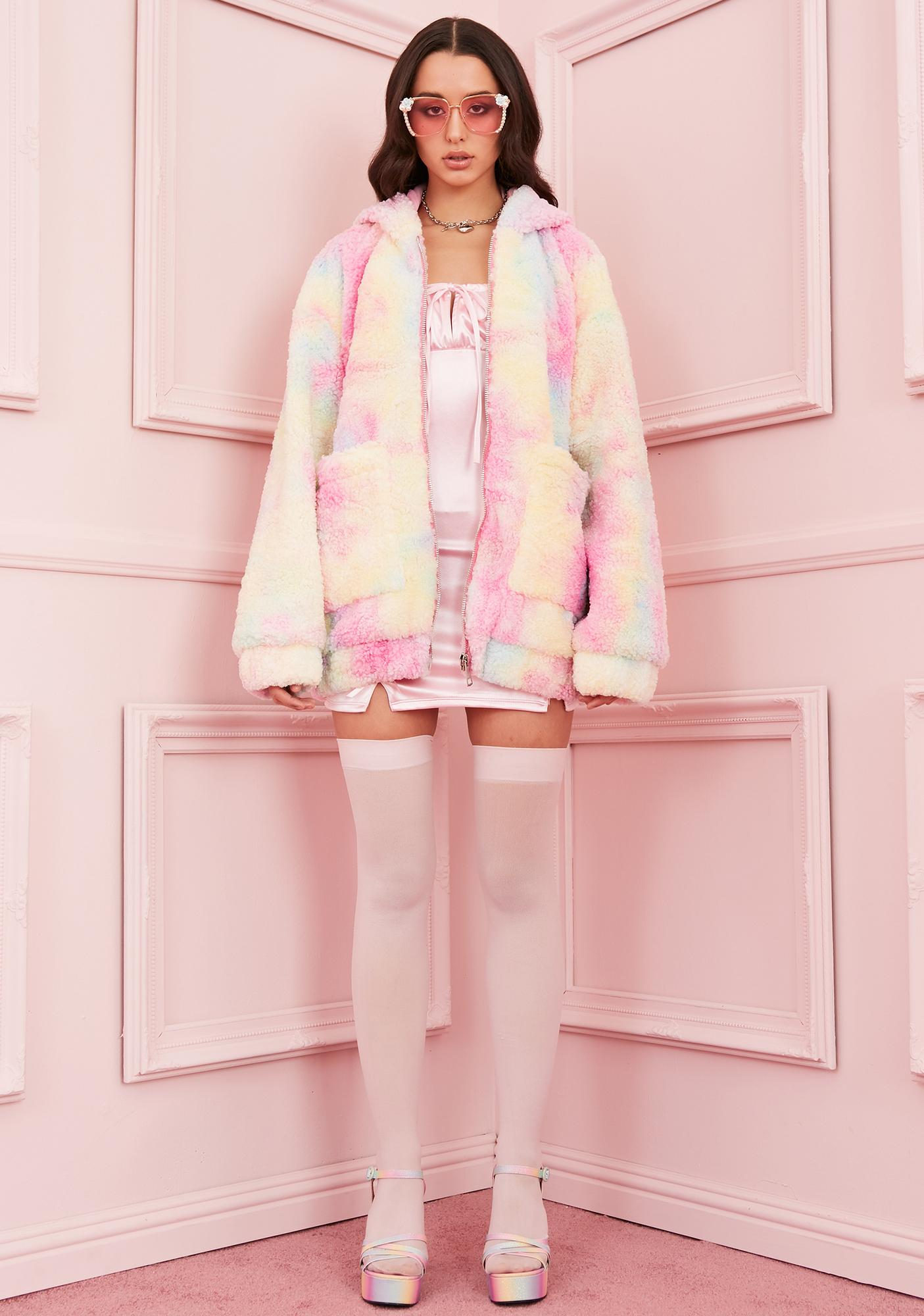 Sugar Thrillz Angel For Hire Teddy Jacket