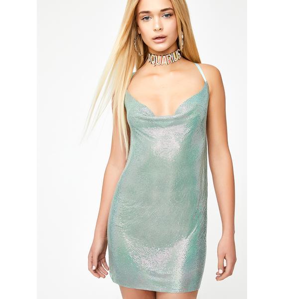 HOROSCOPEZ Aquarian Queen Chainmail Dress