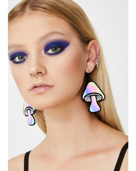 Funk'd Up Shroom Earrings
