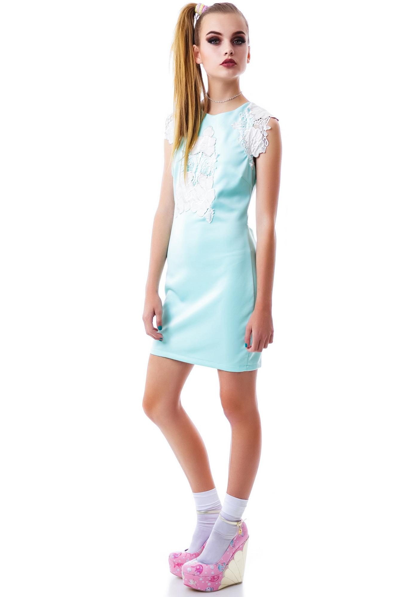 Poppy Plasma Pastel Dress