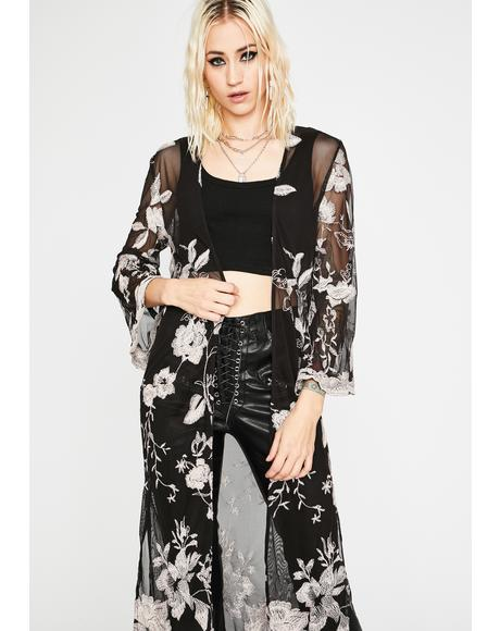 Flora So Fine Sheer Robe