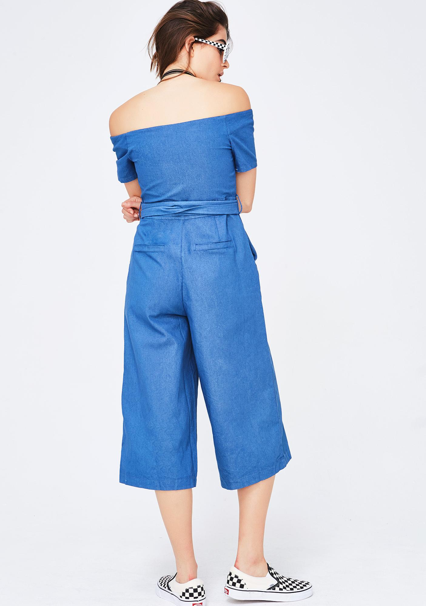 Good N' Ready Zip-Up Jumpsuit