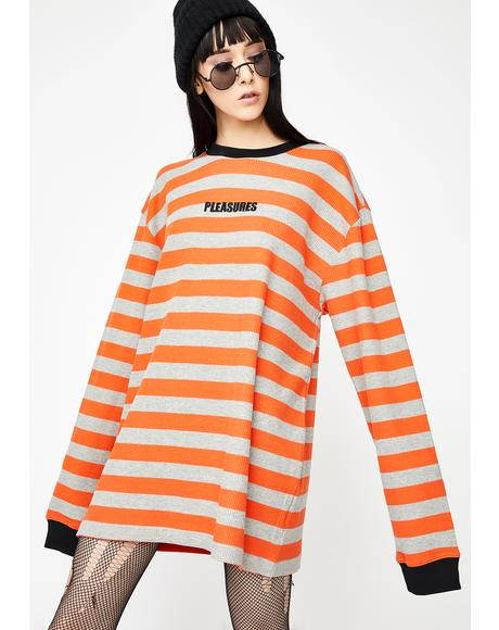 Parade Waffle Knit Long Sleeve Shirt