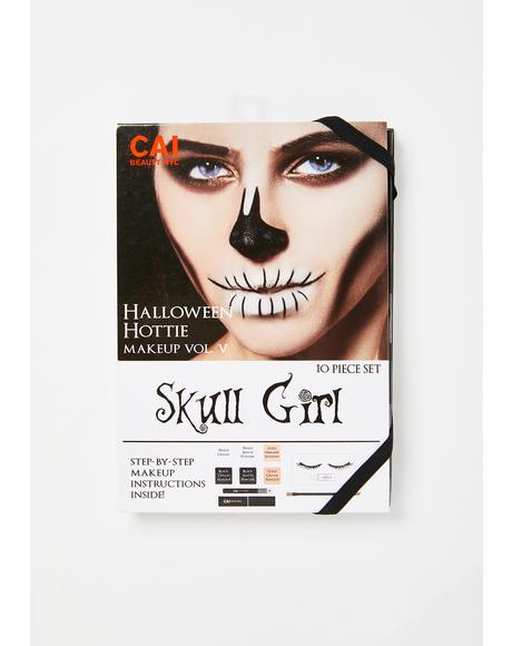 Skull Girl Makeup Kit