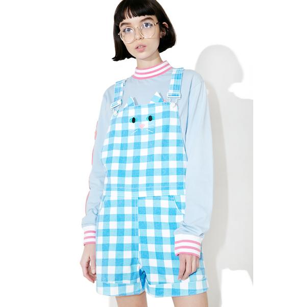 Lazy Oaf Cat Dungarees