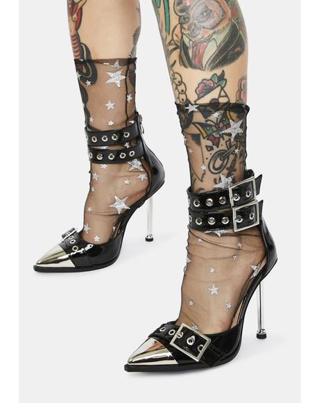 Ripley Patent Buckle Heels