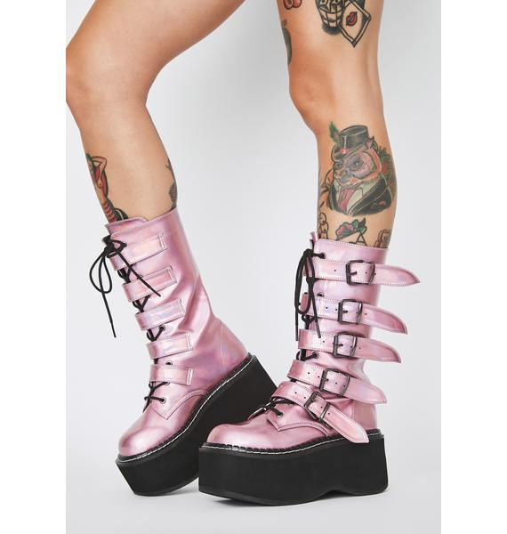 Demonia Cosmic Candy Armageddon Boots