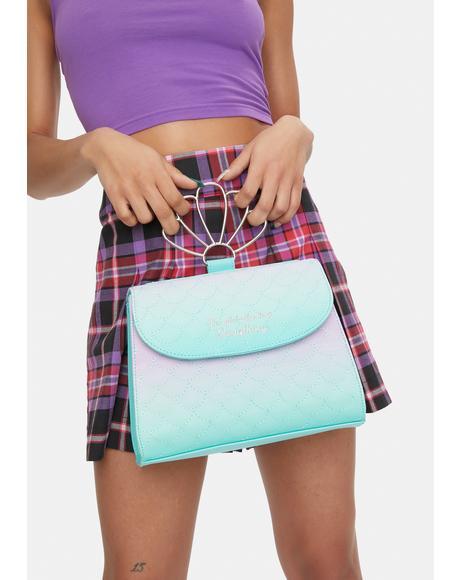 The Little Mermaid Ombre Crossbody Bag