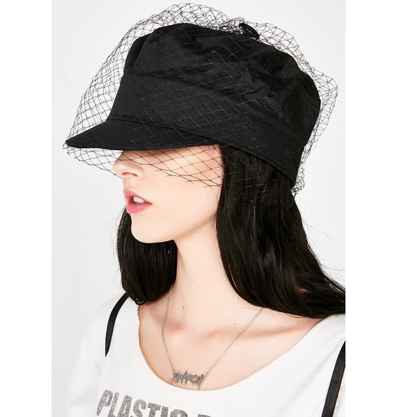 Under The Veil Fishnet Hat