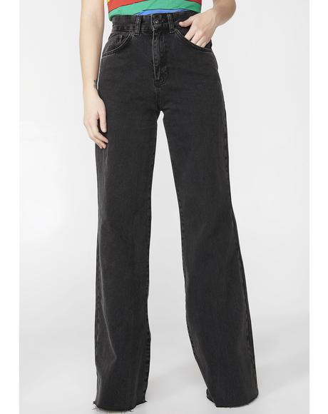 Charcoal Trip Skater Jeans