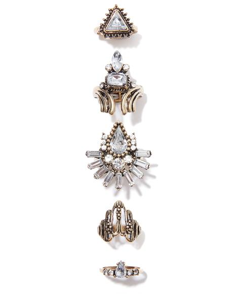 Madame Acantha Ring Set
