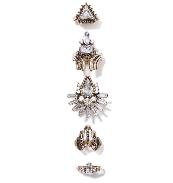 Madame Acantha Ring Set