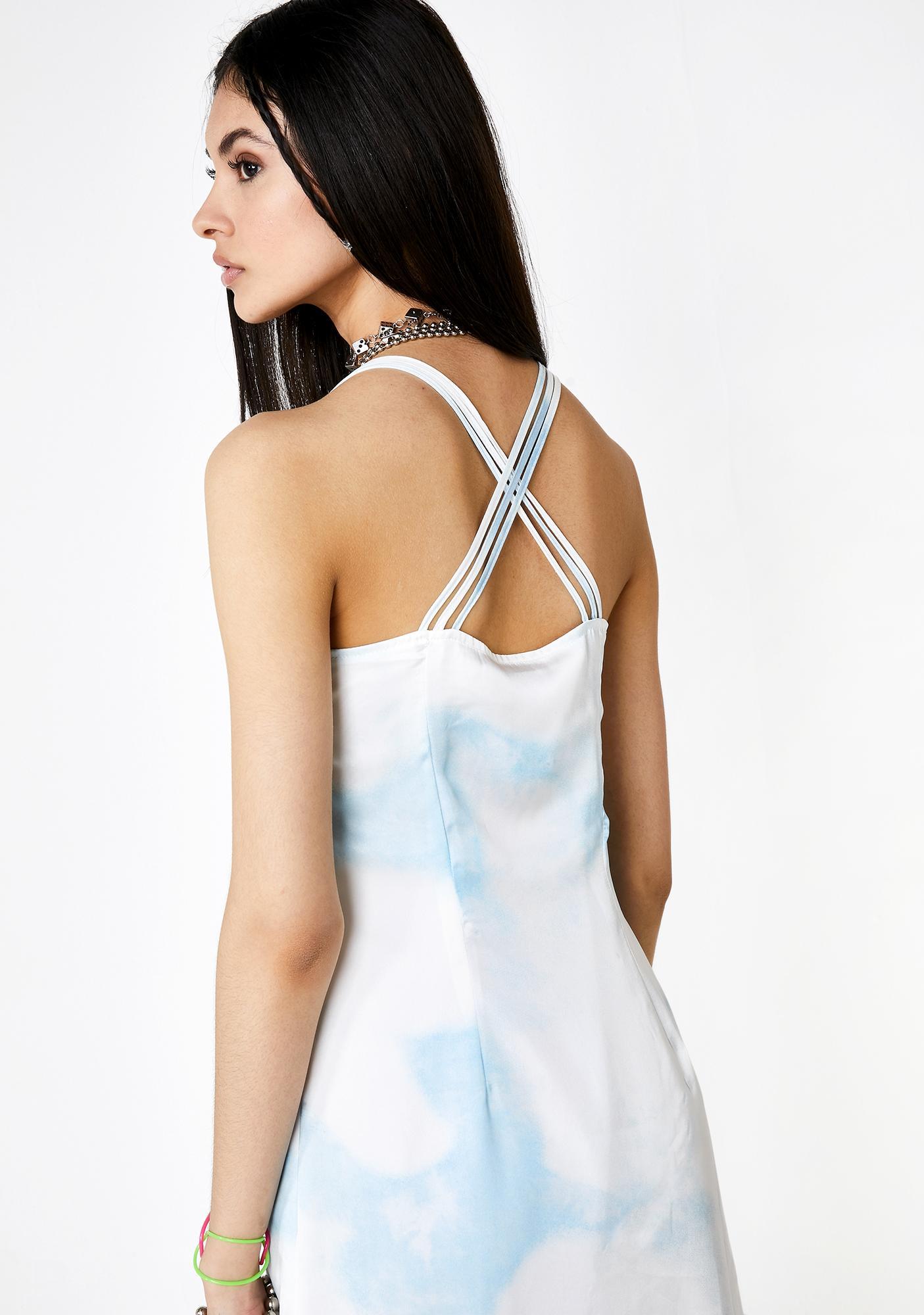 Milk It Satin Midi Cami Dress