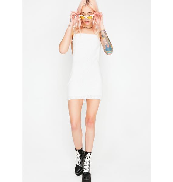 Lookin' Back Eyelet Dress