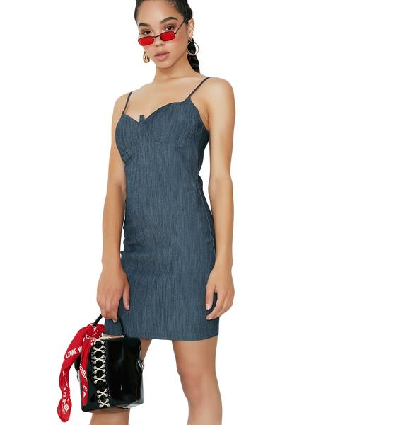 Billie Jean Denim Dress