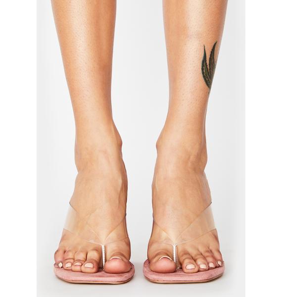Blush Fashion Fever Block Heels