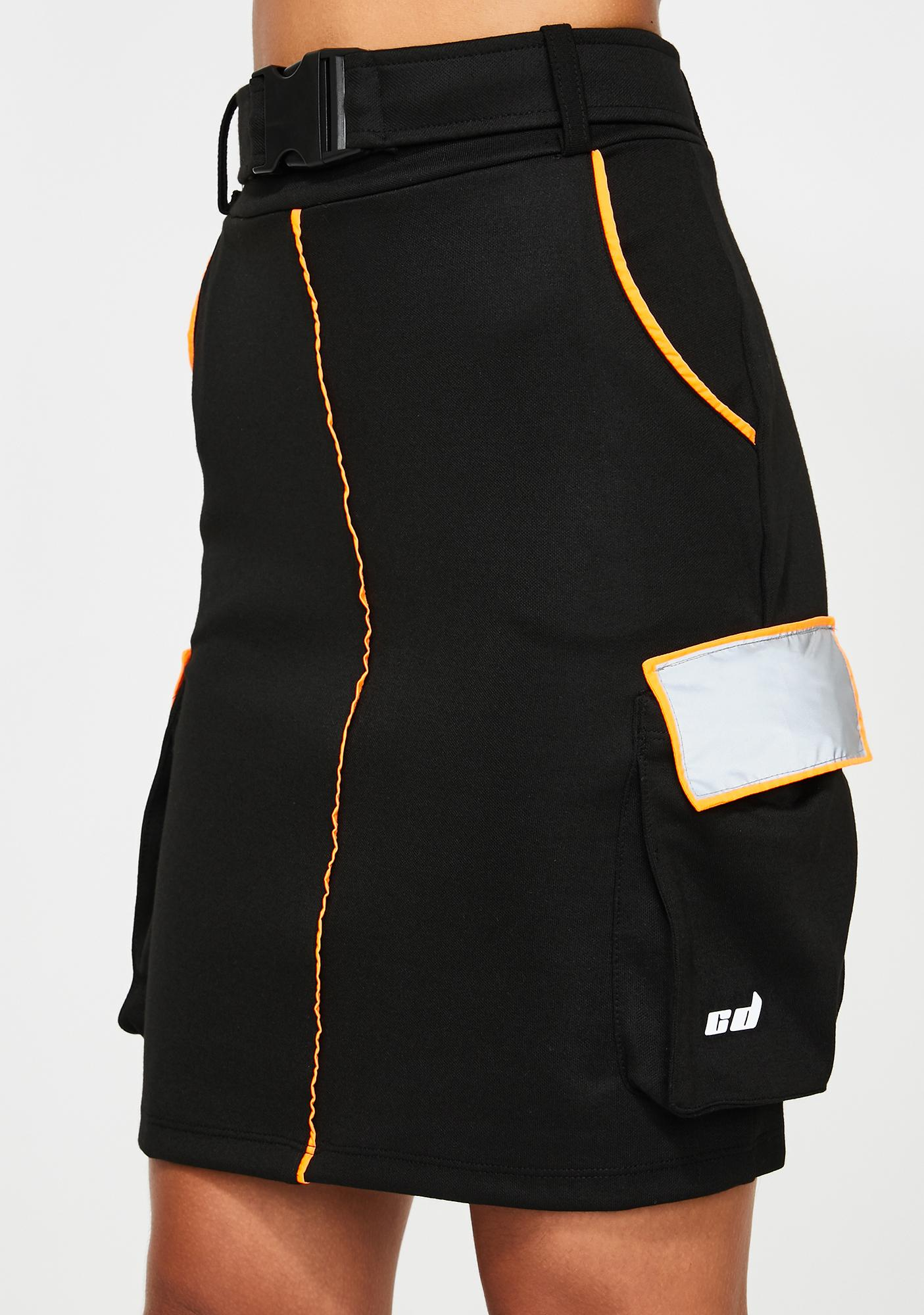Criminal Damage Ola Reflective Skirt