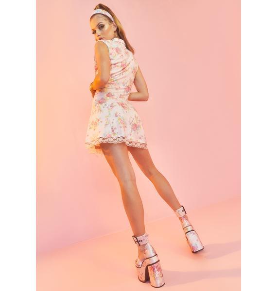 Sugar Thrillz Somebody's Angel Mini Dress