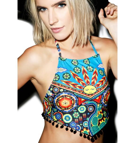 Motel Earth Goddess Swim Top