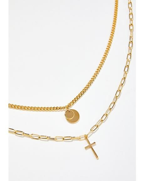 Saint Bae Layered Necklace