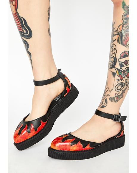TUKskin Flame Creeper Sandals