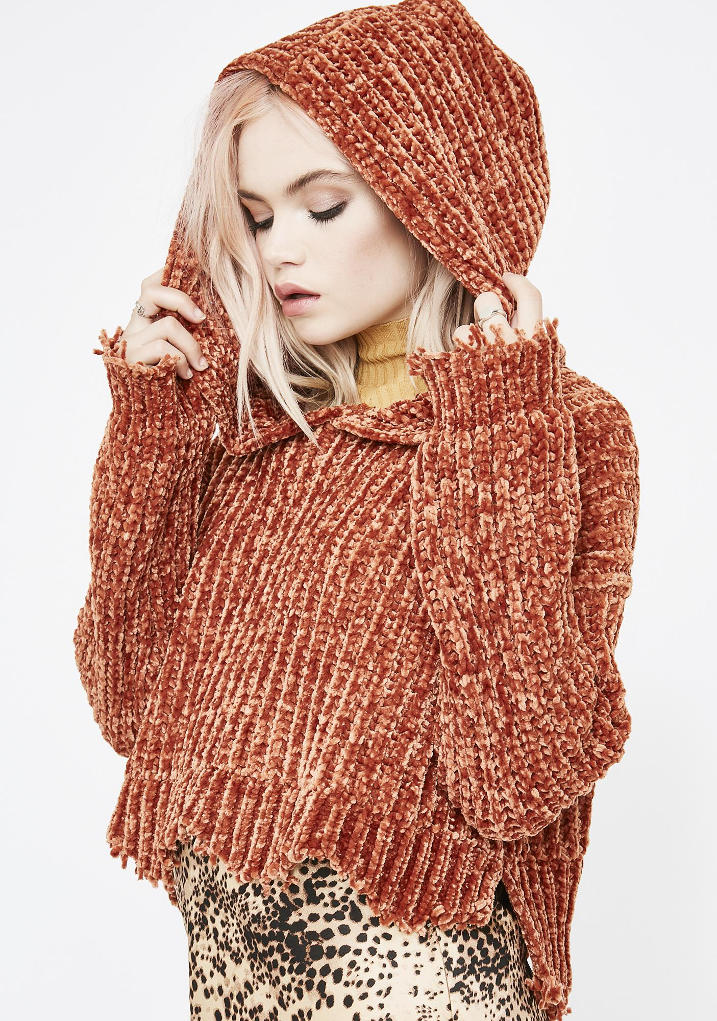 Juiced Forest Nymph Hooded Sweater