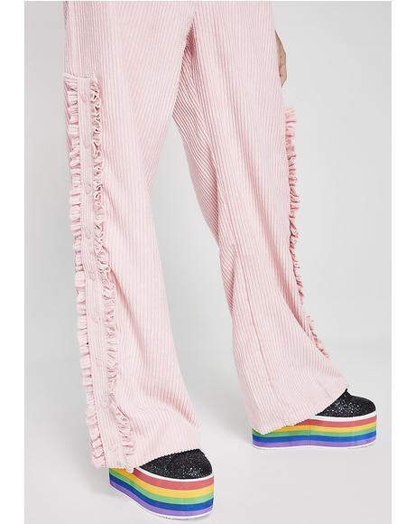 Cord Popper Pants