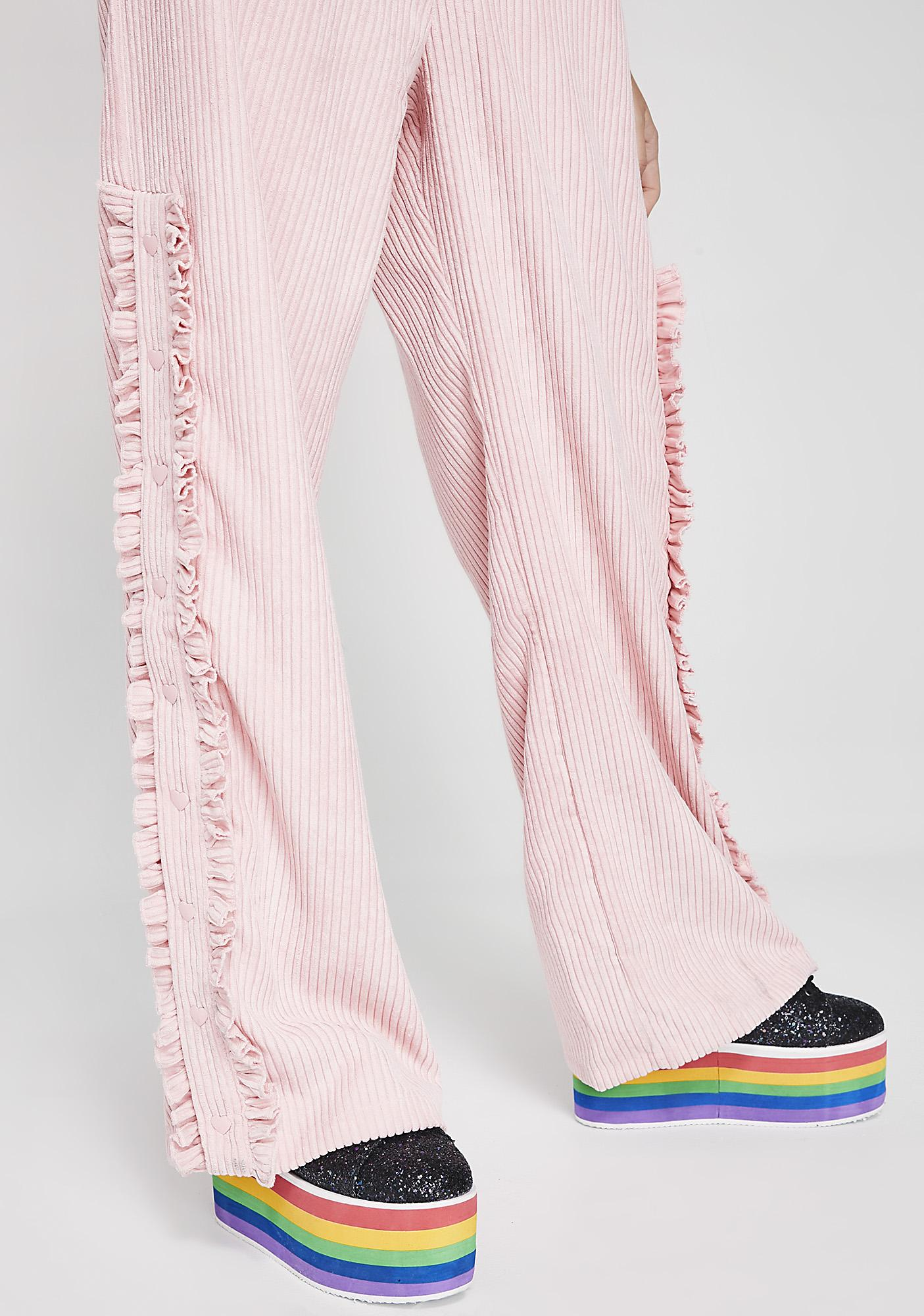 Lazy Oaf Cord Popper Pants