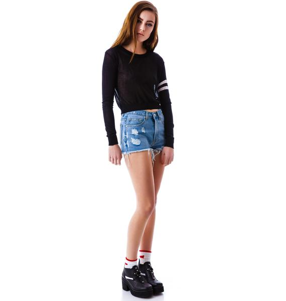 Cheer Cropped Sweater