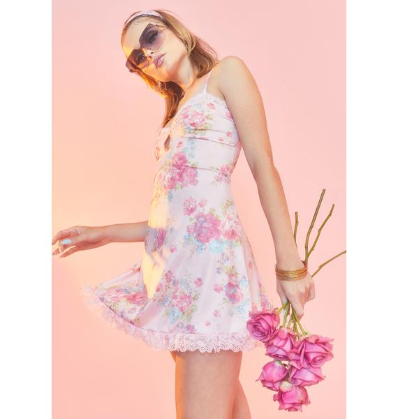 Sugar Thrillz Somebody's Angel Slip Dress