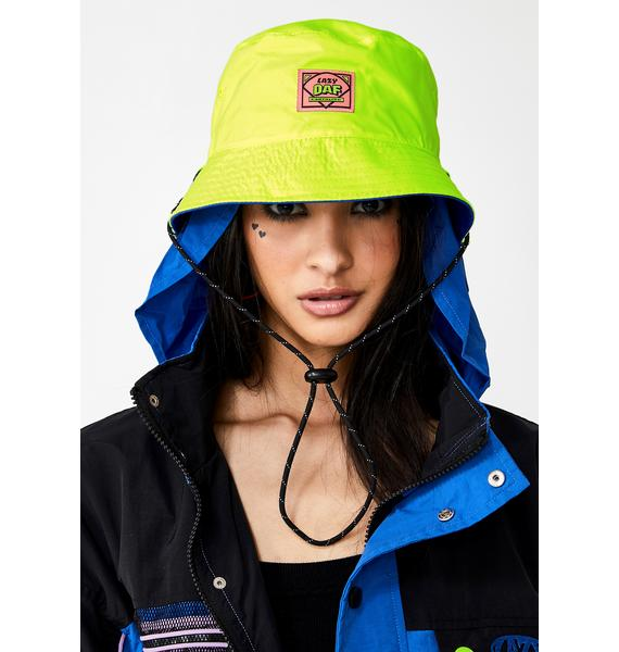 Lazy Oaf Earthling Reversible Bucket Hat