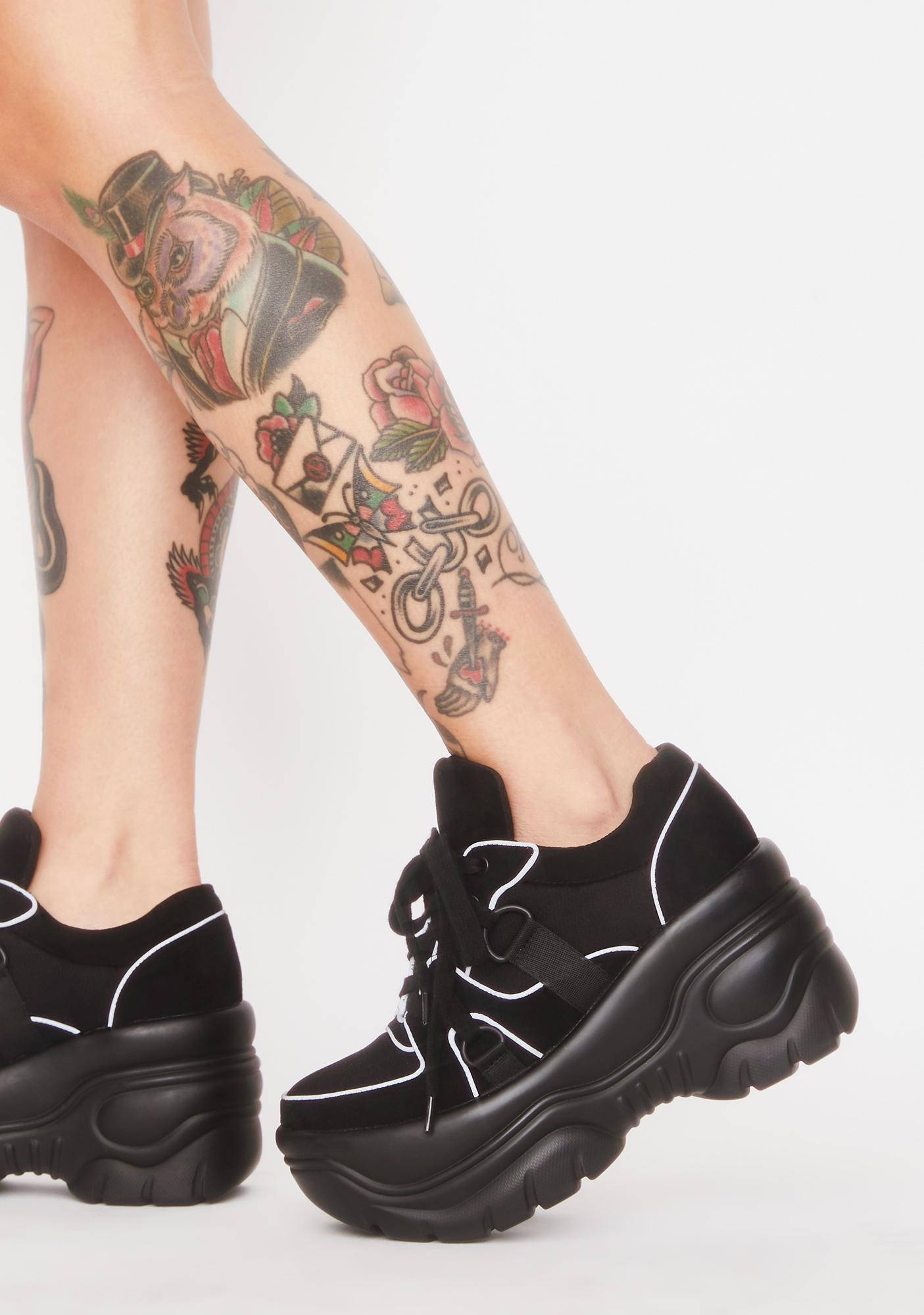 Poster Grl Run The Track Reflective Sneakers