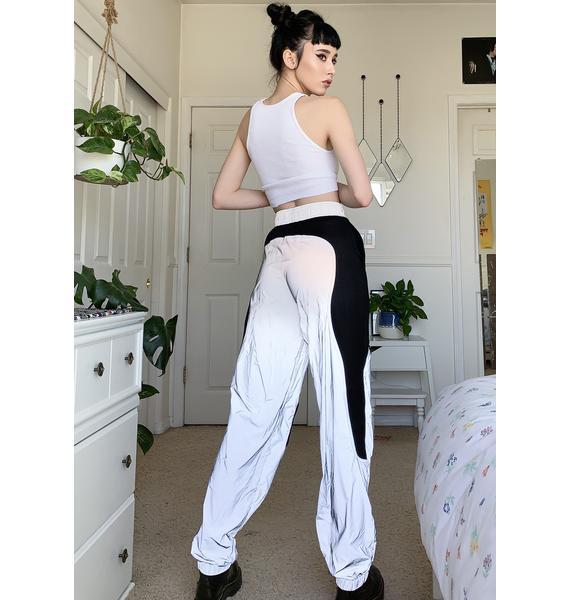 Namilia Reflective Tactical Jogger Sweatpants