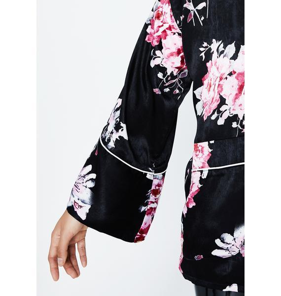 Garden Fairy Floral Jacket