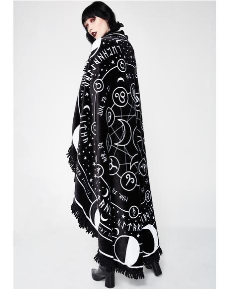 Pagan Round Blanket