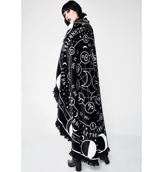 Killstar Pagan Round Blanket